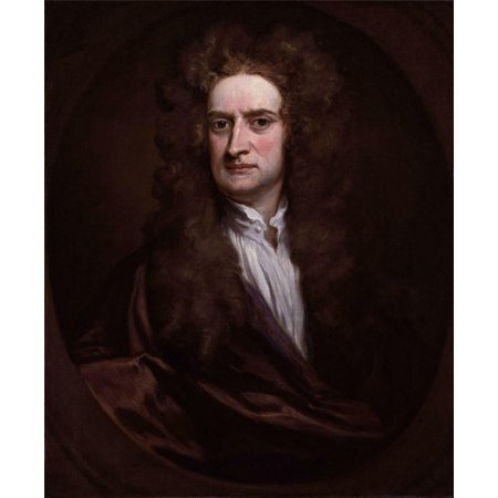 Laminated Poster Sir Isaac Newton Law Motion Natural Philosopher Poster Print 24 x 36 ()