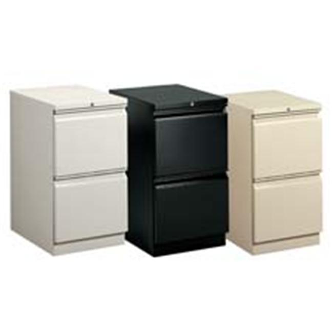 HON Company HON33823RQ Mobile Pedestal- File-File- R Pull- 15in.x22-.88in.x28in.- Lt. Gray