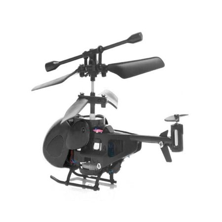 Huppin's Mini Rc Helicopter Radio Remote Control Aircraft  Toy Gift Micro 3.5 Channel