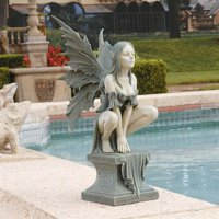 Design Toscano Celtic Fairy's Perilous Perch Garden Sculpture