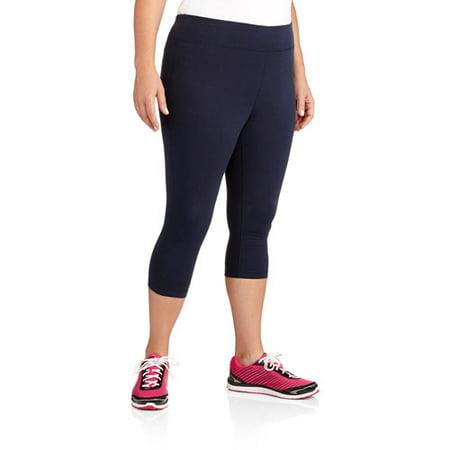 7a1cdd62461 Danskin Now Women s Plus-Size Dri-More Capri Core Legging - Walmart.com