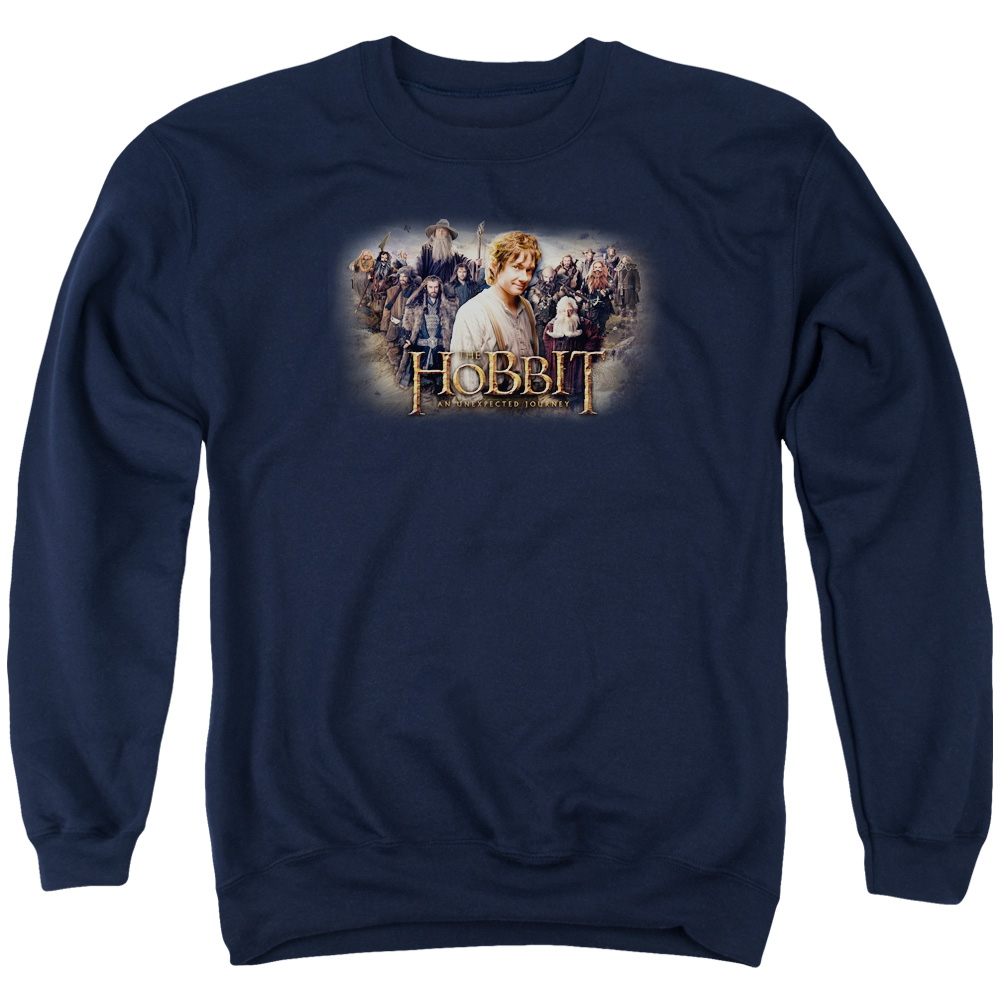 The Hobbit Hobbit Rally Mens Crewneck Sweatshirt