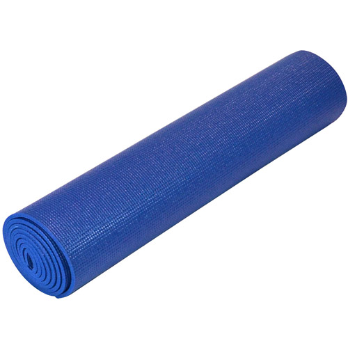 "Yoga Direct Deluxe 1/4"" Yoga Mat, Royal Blue"