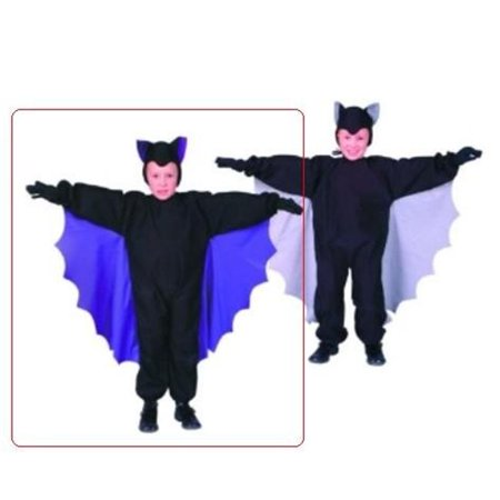 Cute-T-Bat Costume - Purple Wings - Size Child Small 4-6 ()
