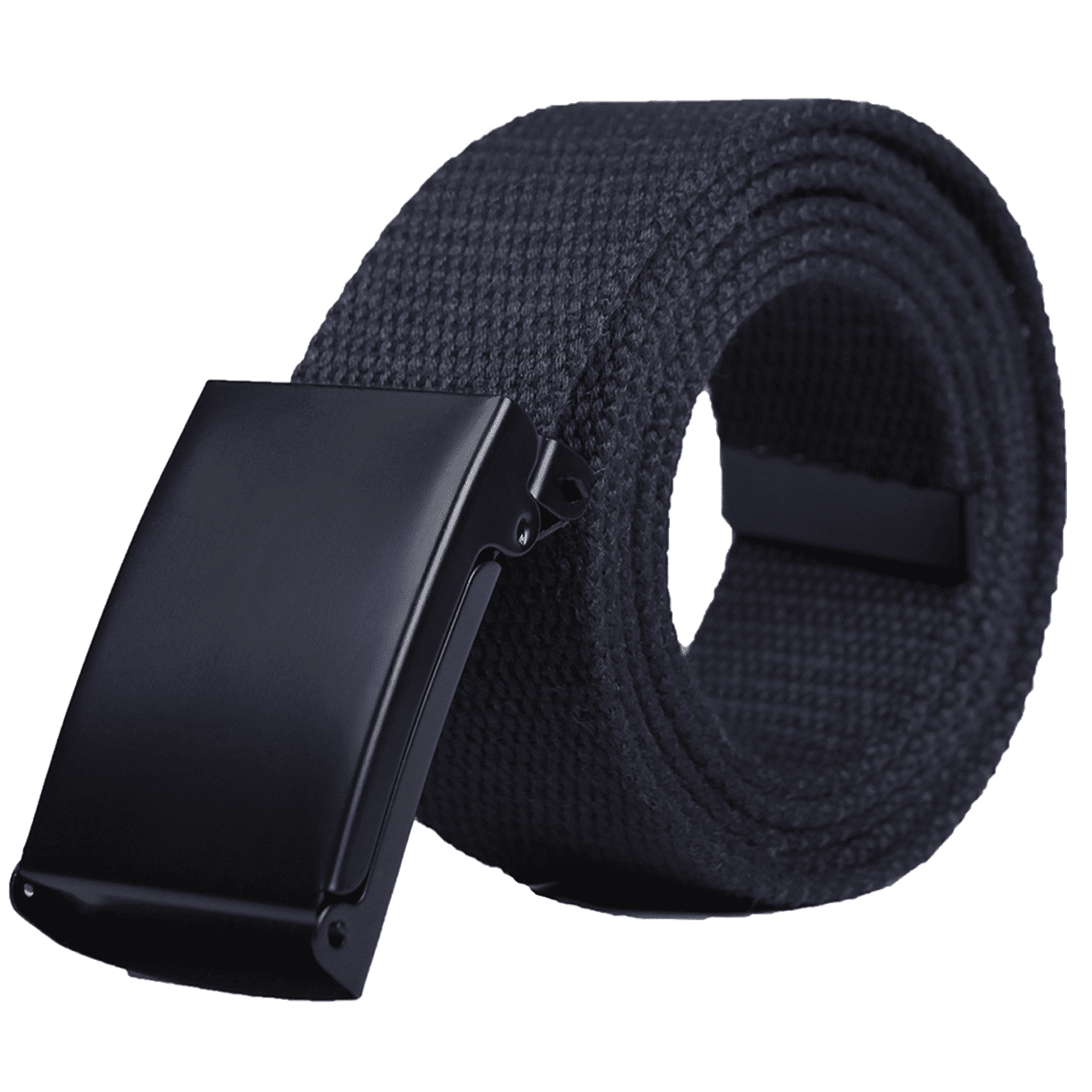 HDE Mens Military Web Belt Canvas Adjustable Style with Metal ... 85bb0c72068
