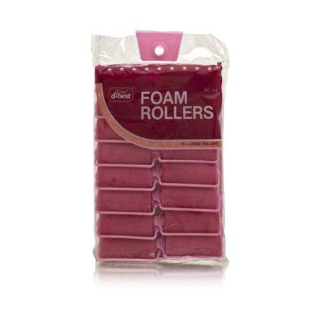 - D*Best Foam Rollers Model No. 503 (16 Large Rollers)