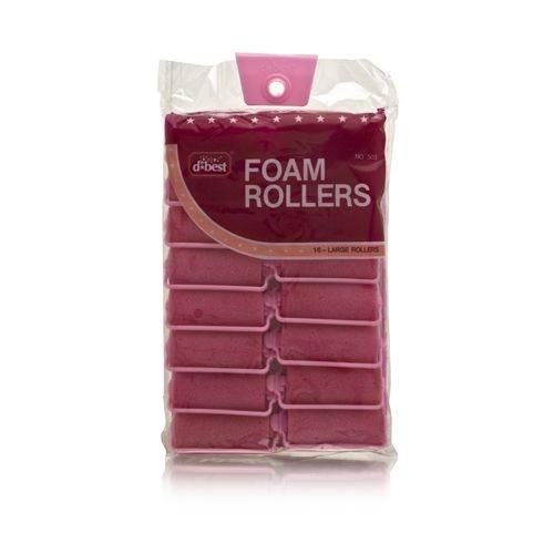 D*Best Foam Rollers Model No. 503 (16 Large Rollers)