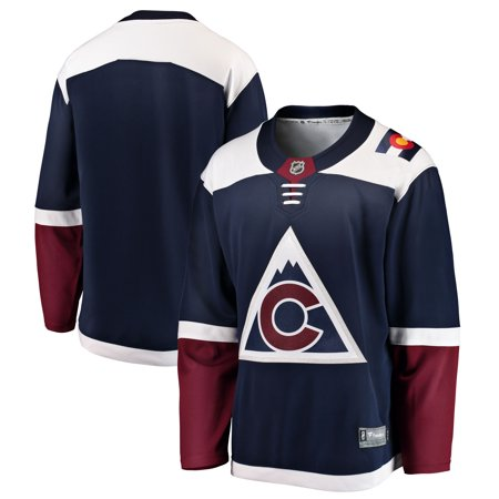 d48b3db49 Colorado Avalanche Fanatics Branded Breakaway Alternate Blank Jersey - Blue  - Walmart.com