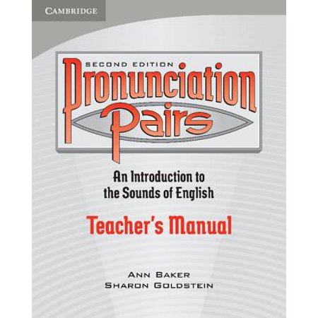 Pronunciation Pairs : An Introduction to the Sounds of (Best Way To Improve Pronunciation)
