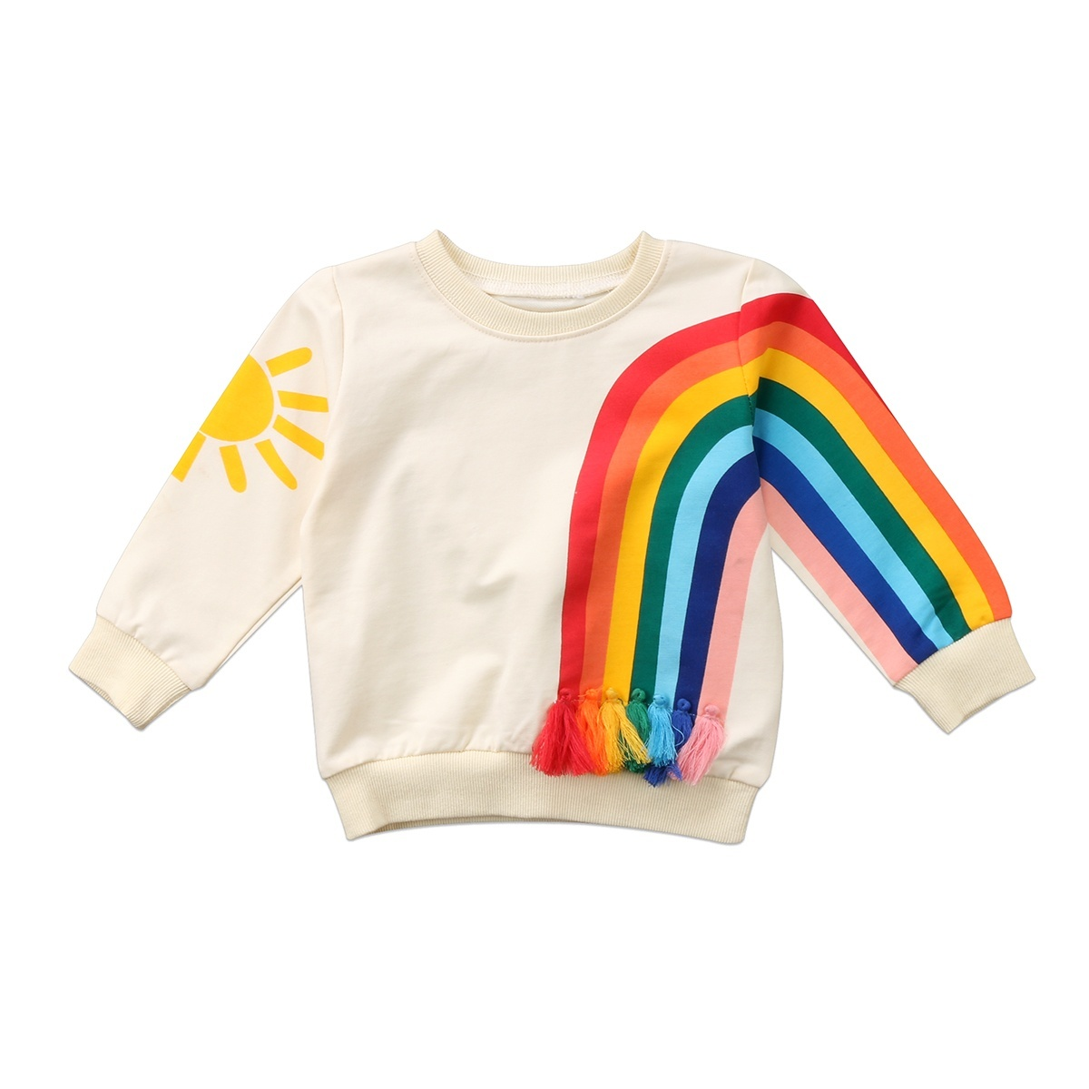 Toddler Baby Girls Unicorn Casual Blouse,Infant Kid Long Sleeve T-Shirt Tops