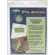 "Fun-Dation Quilt Block Piecing Material, 8-1/2"" x 11"", 25pk"