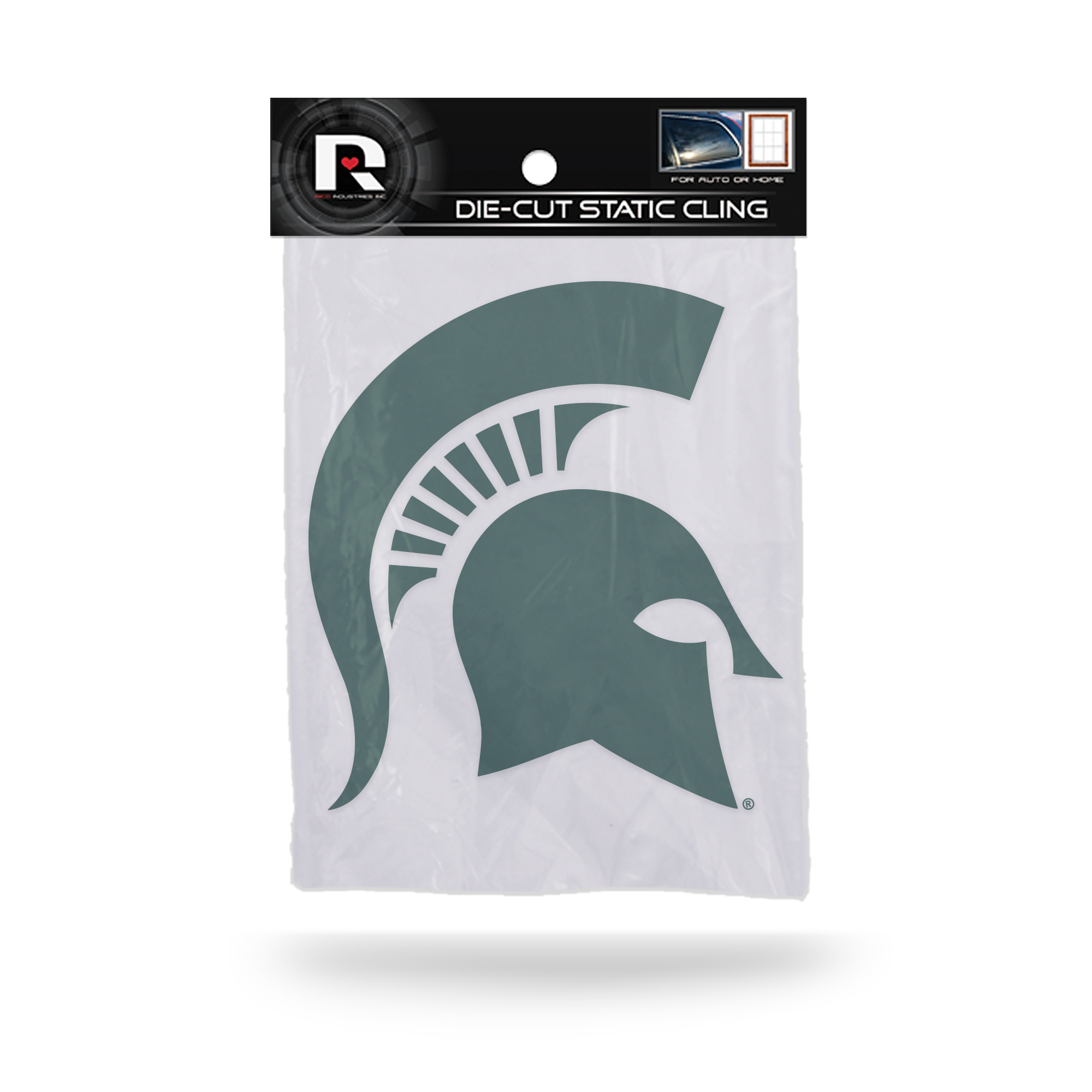 Michigan State Spartans Official NCAA 5 inch  Car Window Cling Decal by Rico