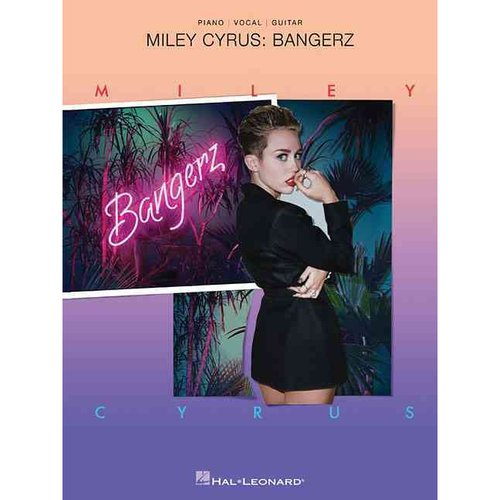 Miley Cyrus: Bangerz: Piano / Vocal / Guitar