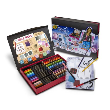 Crayola fashion superstar virtual designer kit for kids Crayola fashion design studio reviews