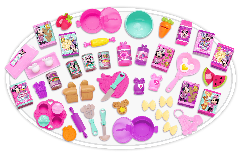 Minnie S Happy Helpers Deluxe Kitchen Accessory Play Set Walmart Com Walmart Com