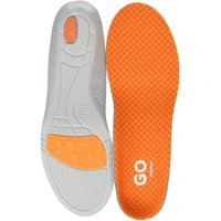 Superfeet Go Comfort Max Shock Absorption Athletic Work Insoles, Shock Absorbing Heel Cushion, Heavy Duty Memory Foam - Size : W: 12+, M: 11.5-14 Regular US - Large, Orange