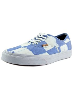 5f3e37a3a0 Product Image Vans Authentic CA Men Round Toe Canvas Blue Sneakers