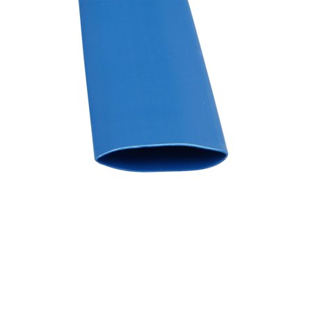 49.2Ft Long 10mm Inner Dia Polyolefin Insulated Heat Shrink Tube Wire Wrap Blue - image 1 of 2