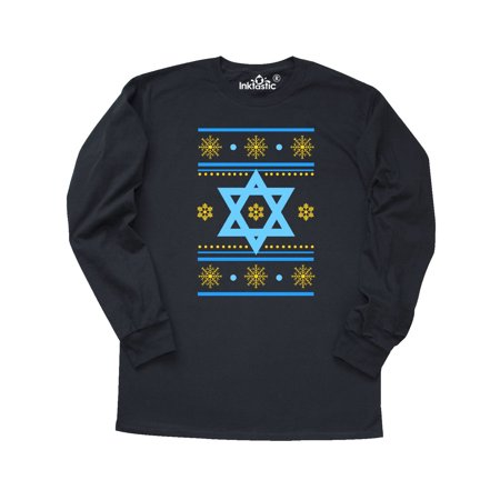 Hanukkah Ugly Sweater Long Sleeve T-Shirt