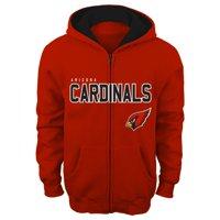 "Arizona Cardinals Youth NFL ""Game Stated"" Full Zip Hooded Sweatshirt"