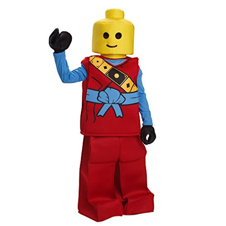 Lego Man Halloween Costume.Dress Up America Halloween Kids Lego Toy Block Ninja Man Costume Outfit Red