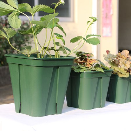 Breathable Plastic Flowerpot Cuttage Planting Plant Pot for Clematis China Rose Decoration - image 5 of 6