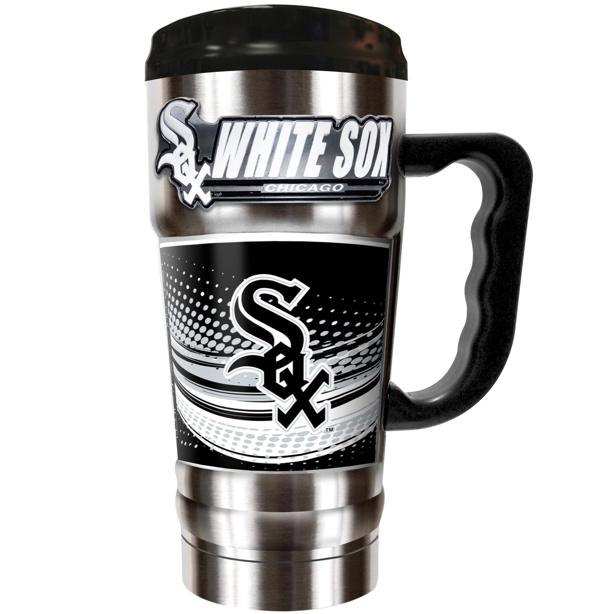 Chicago White Sox The Champ 20 oz. Travel Tumbler - Silver - No Size