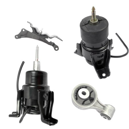 For 09-14 Nissan Maxima Altima 3.5L Engine Motor & Trans Mount Set 4PCS Auto Trans 09 10 11 12 13 - 1972 Nissan 1200 Engine