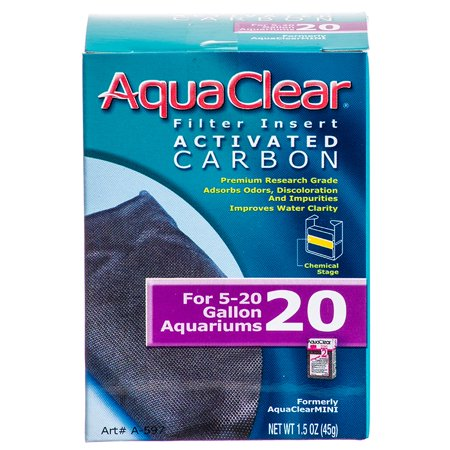 AquaClear 20 Filter Insert Activated Carbon, 1.5 oz