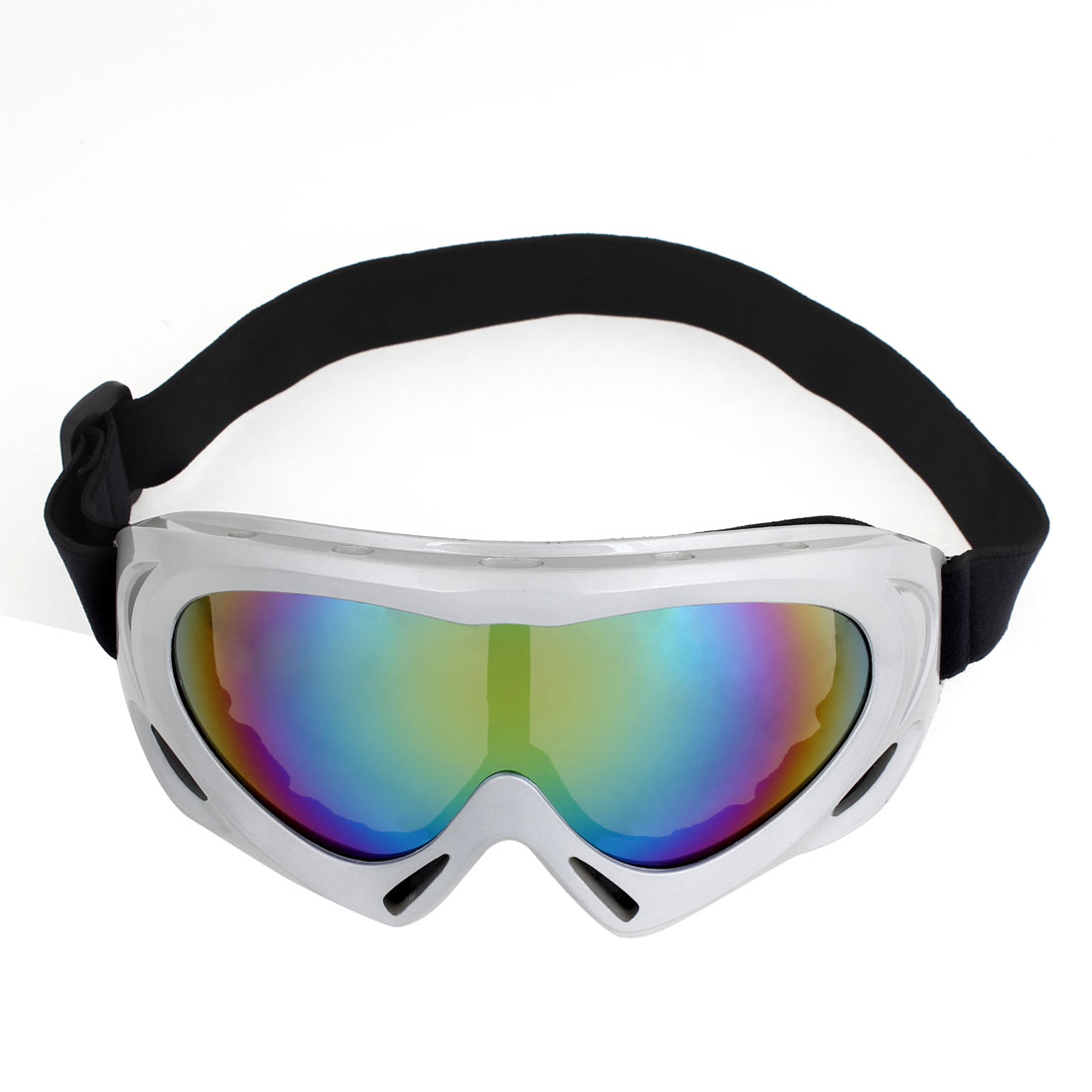 Unique Bargains Winter Sports Snowboard Ski Goggles Windproof Anti-UV Snow Glasses for Men Women by