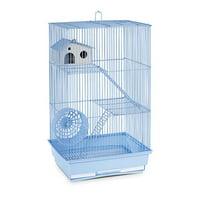 Prevue Hendryx Three Story Hamster & Gerbil Cage- Light Blue
