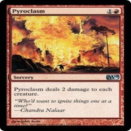 Magic: the Gathering - Pyroclasm - Magic 2010 - Foil