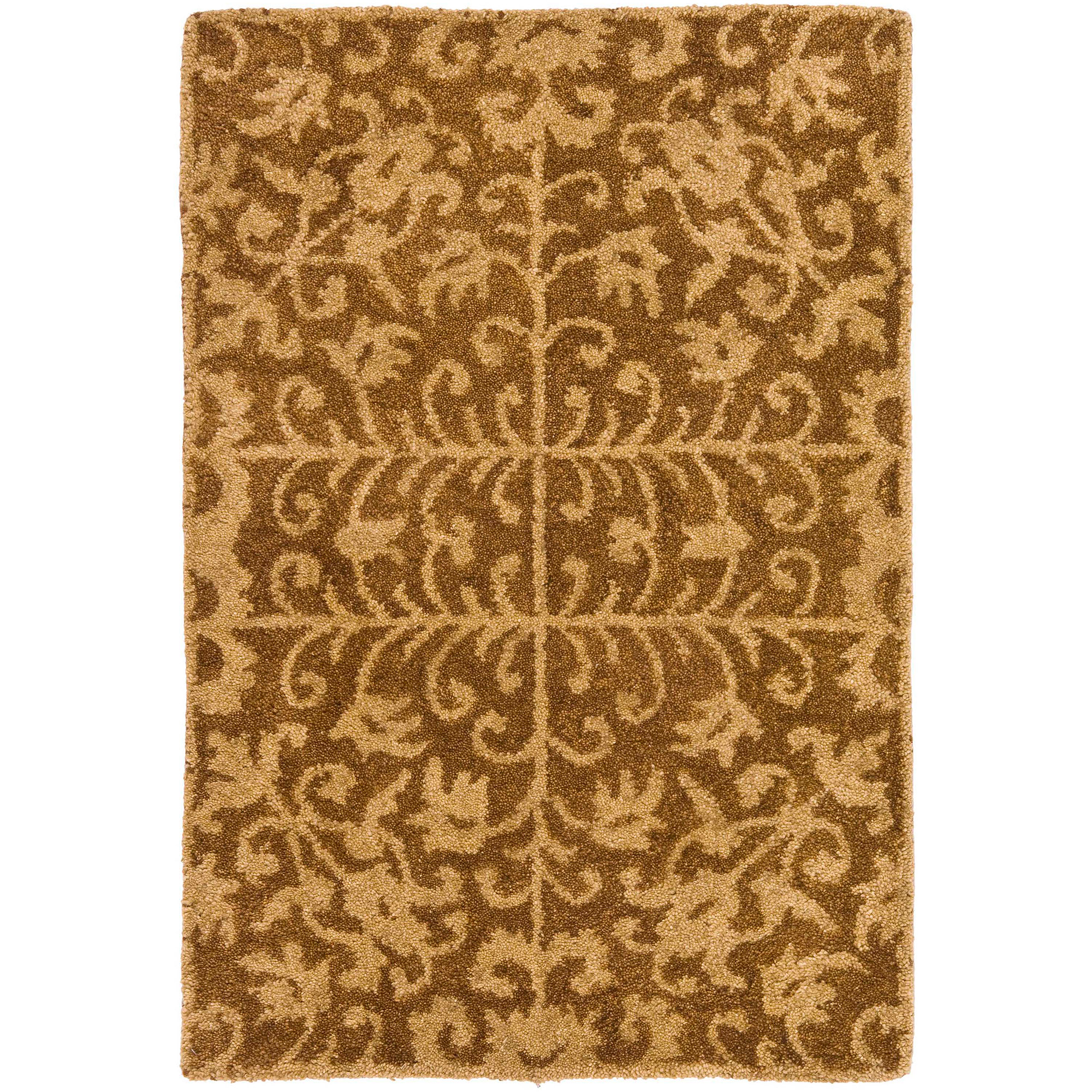 Safavieh Antiquity Richard Hand-Tufted Wool Area Rug, Gold/Beige