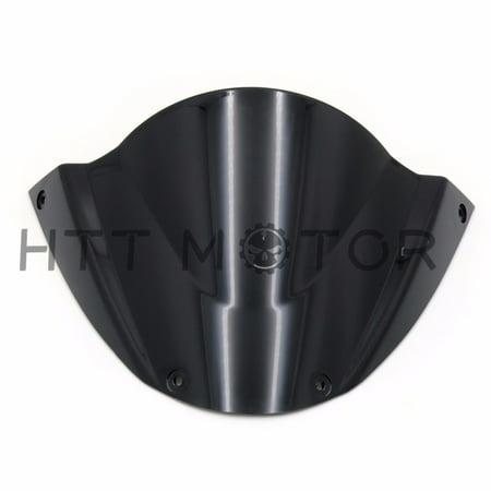 HTTMT- Windshield WindScreen For Ducati Monster 696 2008 2009 2010 2011 2012-2014 (Ducati Monster Windscreen)