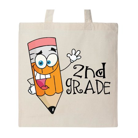 Funny 2nd Grade Teacher Tote Bag Natural One Size