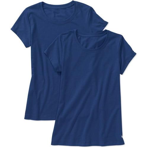 Danskin Now Women's Essential Workout T-Shirt, 2-Pack