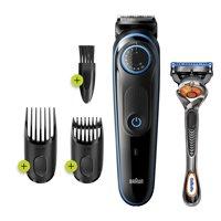 Braun BT5240 Mens Rechargeable Beard Trimmer and Hair Clipper