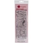 """Woodware Clear Stamps 8""""x2.75"""" Sheet-noe"""
