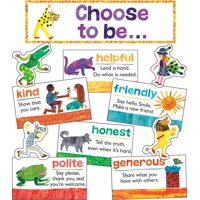 World of Eric Carle(tm) Positive Character Traits Mini Bulletin Board Set (Other)