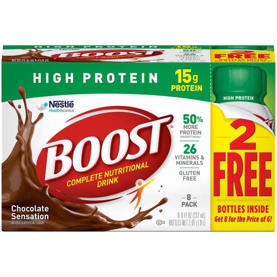 BOOST HIGH PROTEIN Chocolate 8-8 fl. oz. Bottles