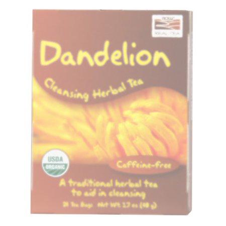 NOW Foods Dandelion Tea, 24 Ct