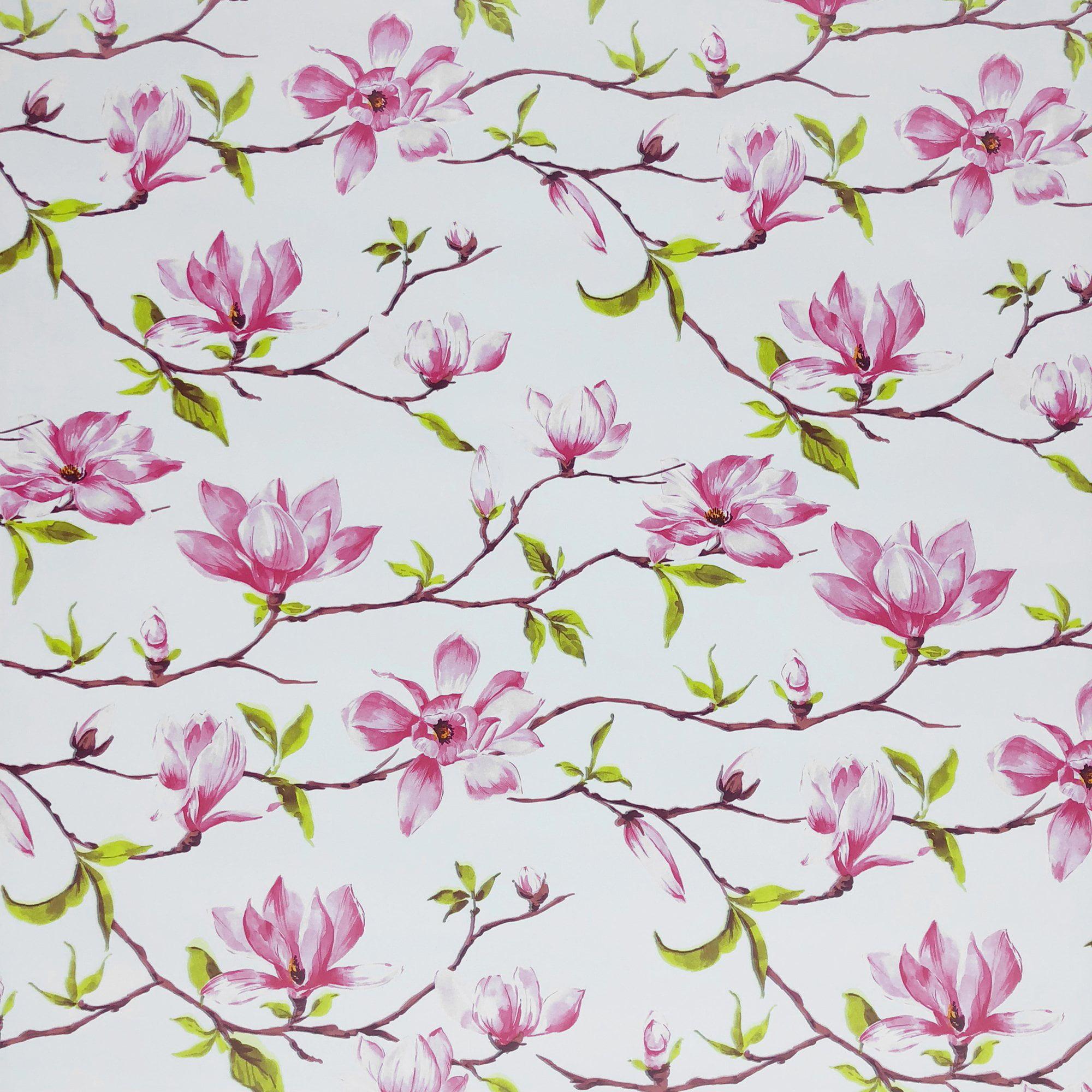 "Jillson & Roberts Gift Wrap, Magnolia, 5' x 30"" Rolls (8 Pcs)"