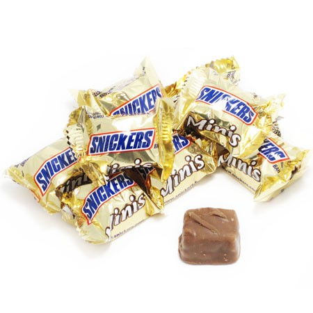 Snickers, Miniature Size Bulk, 20 Lb