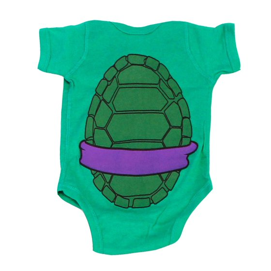 2d0fe0fa4 Teenage Mutant Ninja Turtles Green Costume Infant Baby Onesie Romper