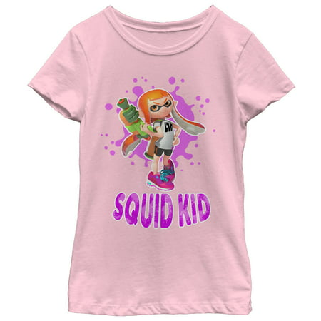 Nintendo Girls' Splatoon Squid Kid T-Shirt