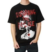 Famous Stars and Straps Men's Disturbing the Police Graphic T-Shirt