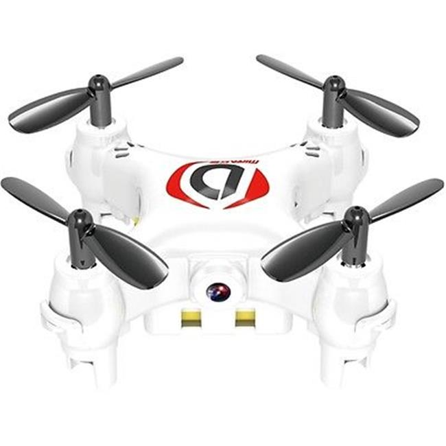 Worryfree Gadgets MiniDrone-WHT Mini Drone Mirage with Camera Quadcopter, White