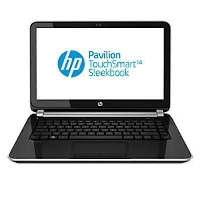 Refurbished  HP Black Licorice 15.6 15-F024WM Laptop PC with Intel Pentium N3530 Processor 4GB Memory, Touchscreen, 500GB Hard Drive and Win