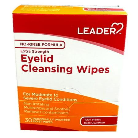 Leader Eye Cleansing Wipes, 30ct 096295133080J700 (Cleansing Eye)