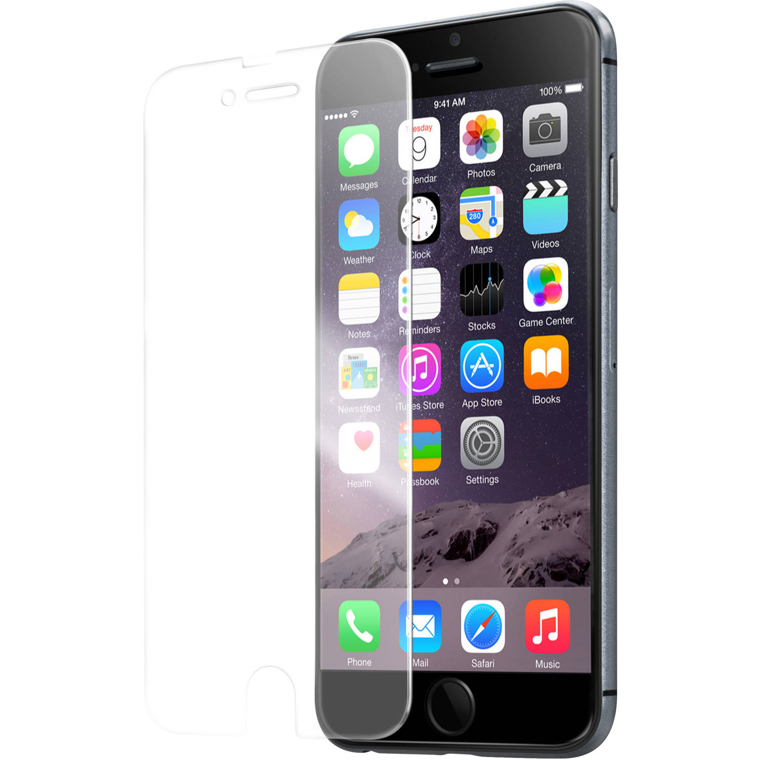 LAUT PRIME GLS Apple iPhone 6 Screen Protector, Clear